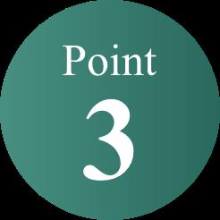 三つのポイント